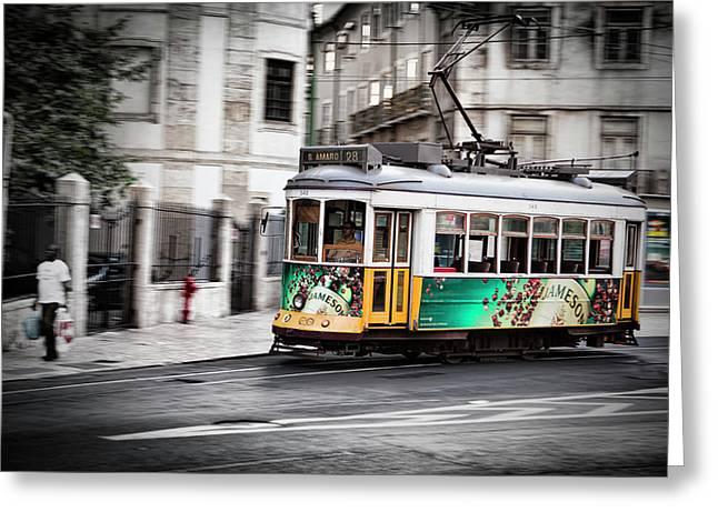 Lisboa Tram IIi Greeting Card