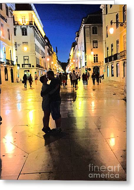 Lisbon Love Greeting Card by Tom Wurl