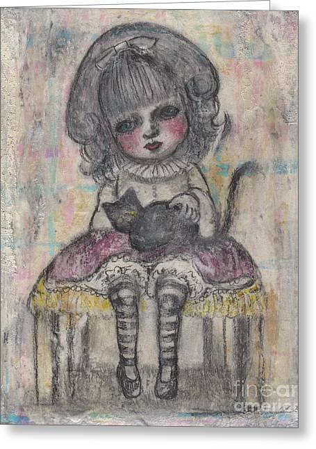 Little Alice Greeting Card