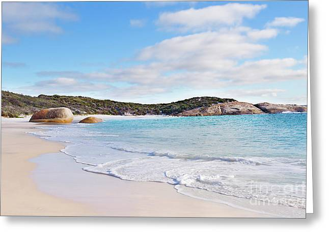 Greeting Card featuring the photograph Little Beach, Australia by Ivy Ho