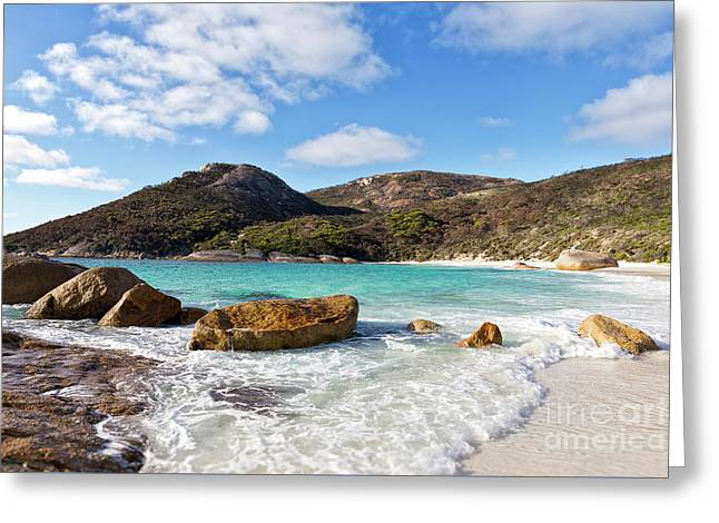 Greeting Card featuring the photograph Little Beach Two Peoples Bay Nature Reserve by Ivy Ho
