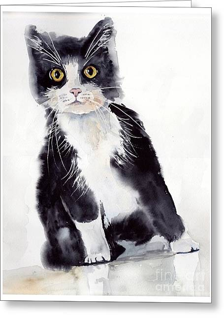 Little Black Scamp Greeting Card