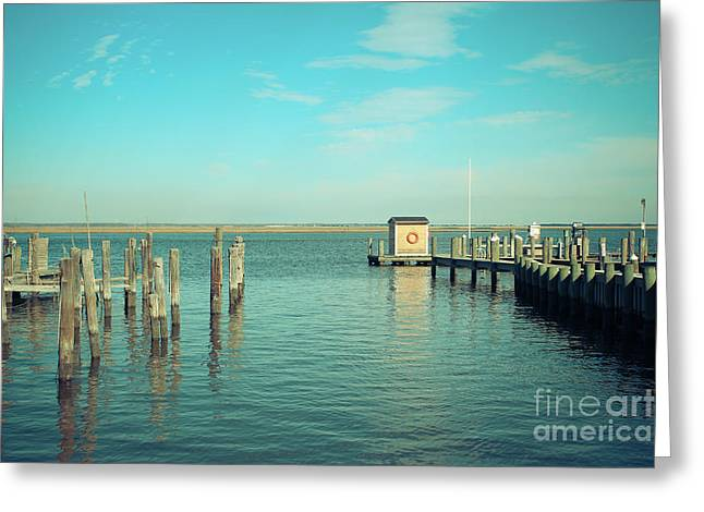 Greeting Card featuring the photograph Little Boat House On The River by Colleen Kammerer