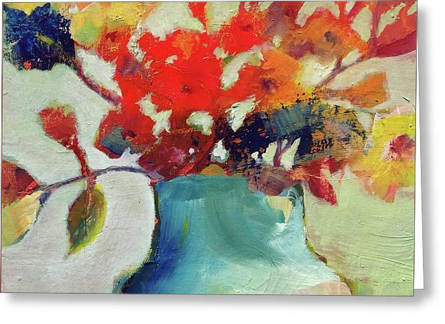 Little Bouquet Greeting Card by Michelle Abrams