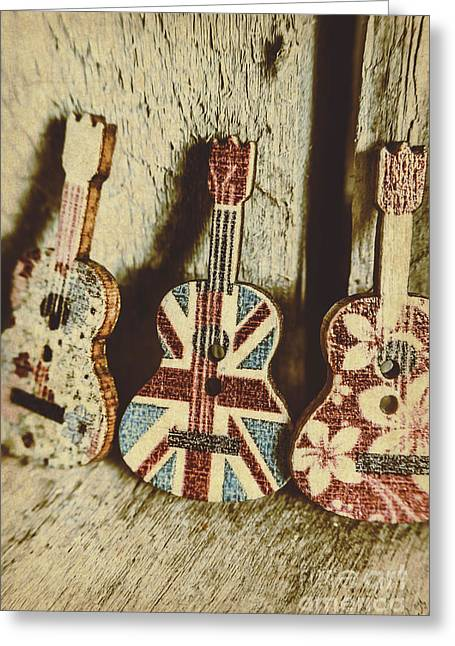 Little Britain, Big Sounds Greeting Card
