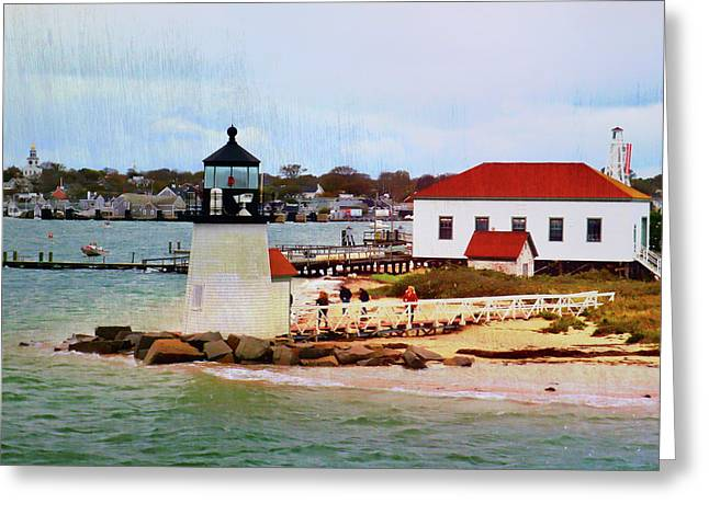Little Cape Light Greeting Card by JAMART Photography