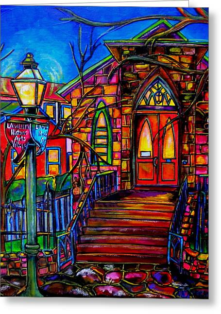 Little Church At La Villita II Greeting Card by Patti Schermerhorn