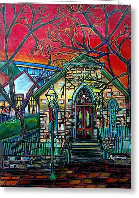 Little Church At La Villita Greeting Card