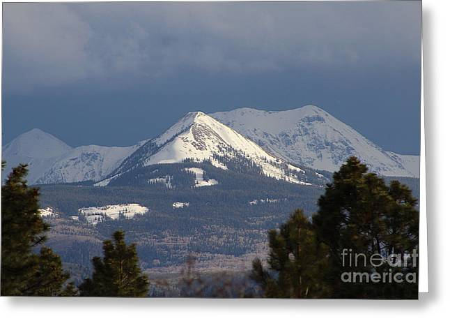 Little Cone Peak Colorado Greeting Card