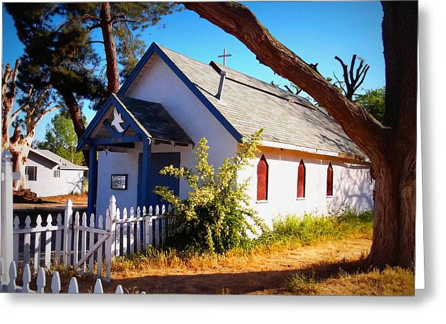 Little Country Church Greeting Card by Glenn McCarthy Art and Photography