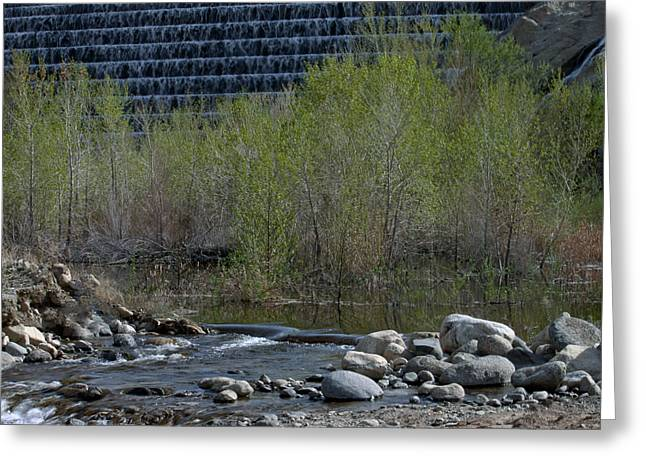 Greeting Card featuring the photograph Little Dam by Ivete Basso Photography