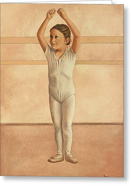 Little Dancer Greeting Card