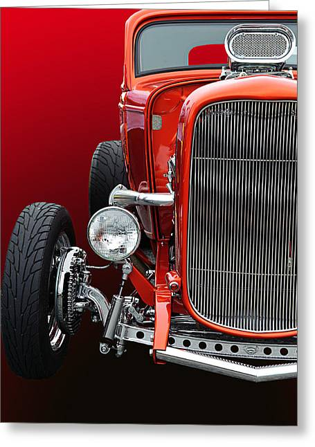 Little Deuce Coupe Greeting Card by Jim  Hatch