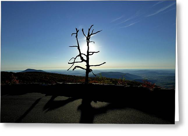 Greeting Card featuring the photograph Little Devil Stairs Overlook by Robert Geary