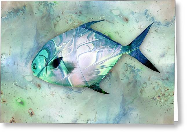 Little Fish Greeting Card