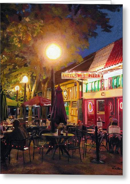 Little Five Points, Atlanta Greeting Card by Robyn Siani
