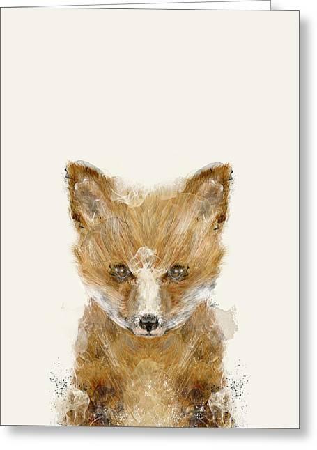 Little Fox Cub Greeting Card