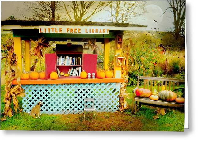 Little Free Library Greeting Card