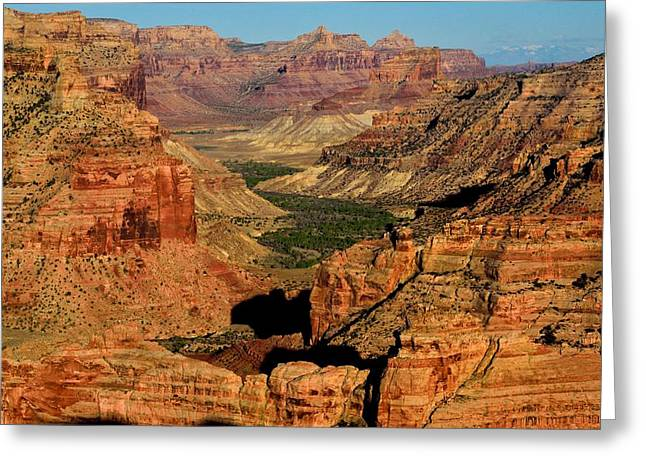Little Grand Canyon Sunrise Greeting Card