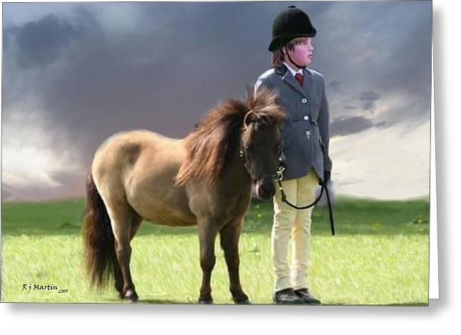Little Horseman Greeting Card