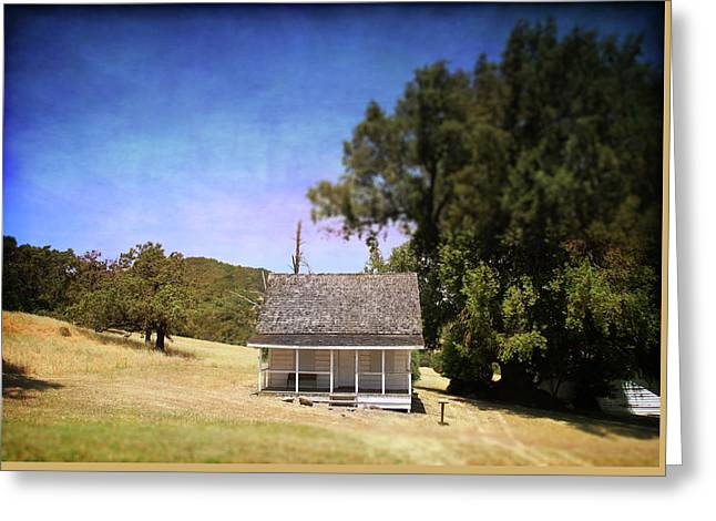 Little House Greeting Card by Laurie Search