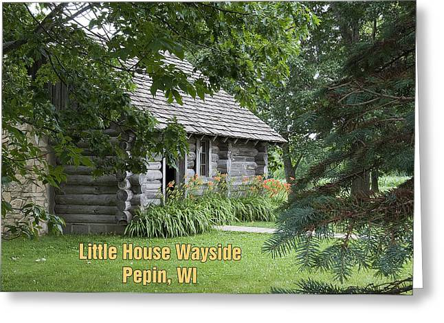 Little House Wayside Card Greeting Card