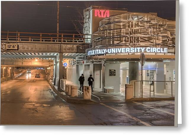 Little Italy Rta Greeting Card