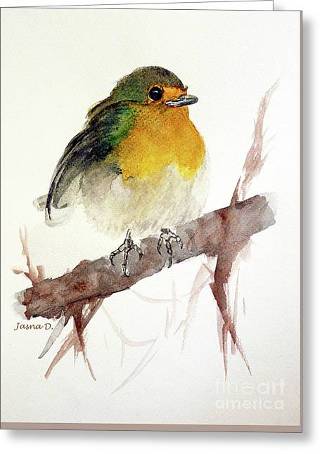 Little Greeting Card by Jasna Dragun