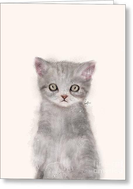 Little Kitten Greeting Card