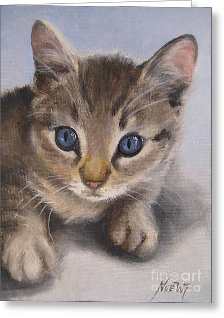 Little Kitty Greeting Card