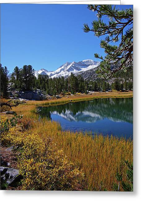 Little Lakes Valley 2 Greeting Card