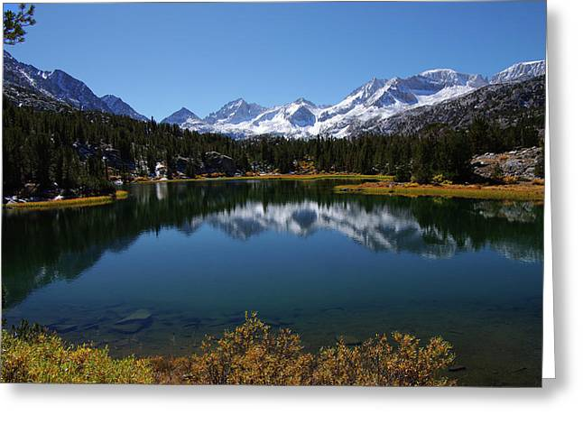 Little Lakes Valley Eastern Sierra Greeting Card