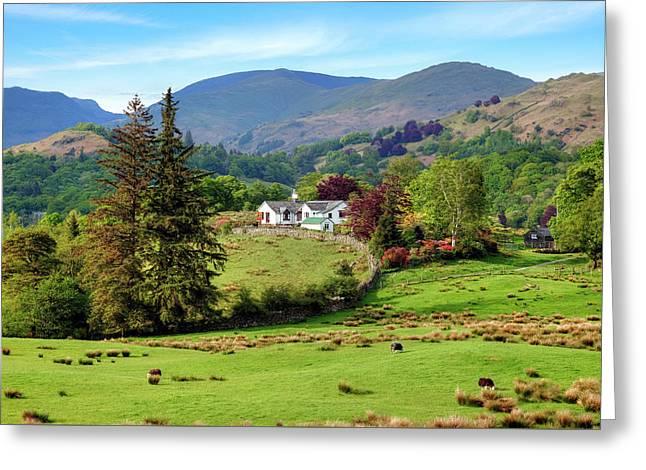 Little Langdale - Lake District Greeting Card