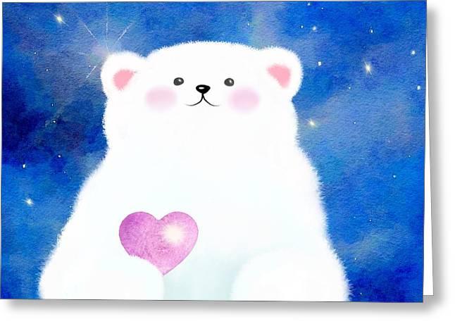 Little Love Bear  Greeting Card