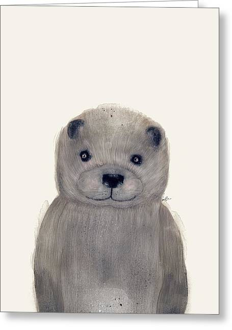 Little Otter Greeting Card