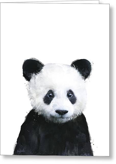 Little Panda Greeting Card