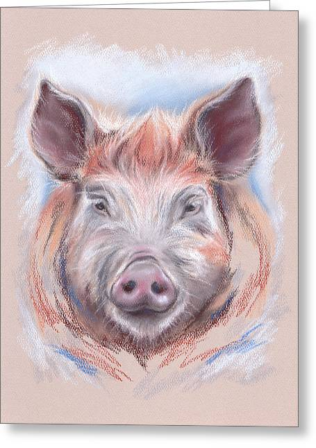 Little Pig Greeting Card