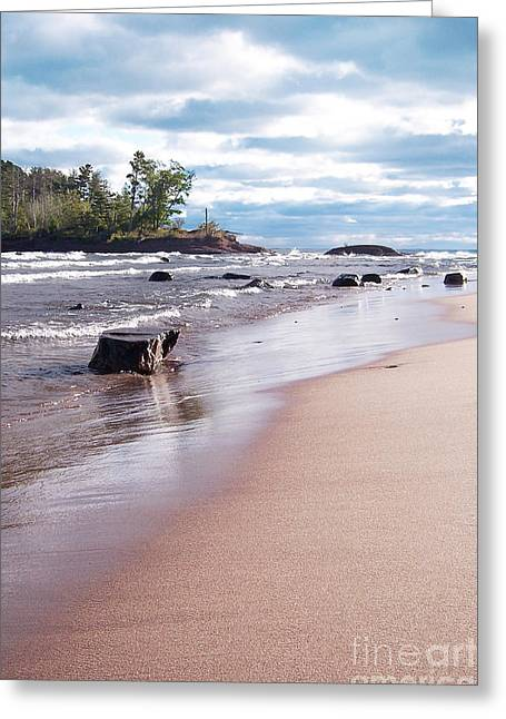 Little Presque Isle Greeting Card