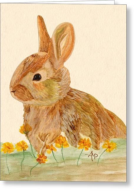 Little Rabbit Greeting Card