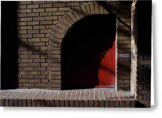 Little Red Corner In Downtown Orlando Florida Greeting Card