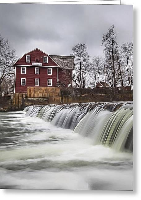 Little Red Mill Greeting Card