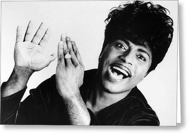 Little Richard (1932-) Greeting Card by Granger