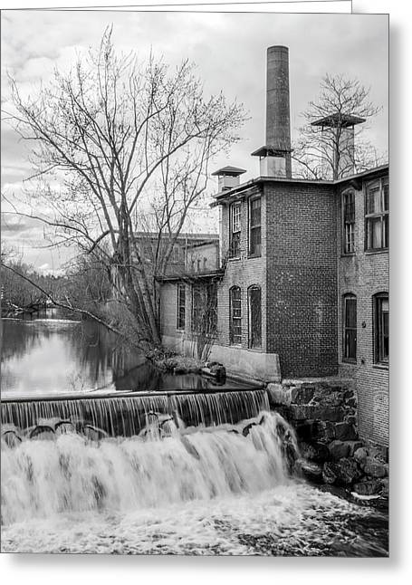 Little River Dam Greeting Card