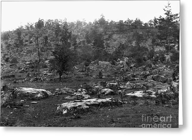 Little Round Top Greeting Card