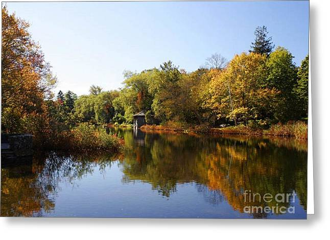 Little Shawme Pond In Sandwich Massachusetts Greeting Card