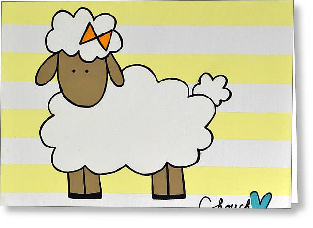 Little Sheep I Greeting Card by Chouch Store