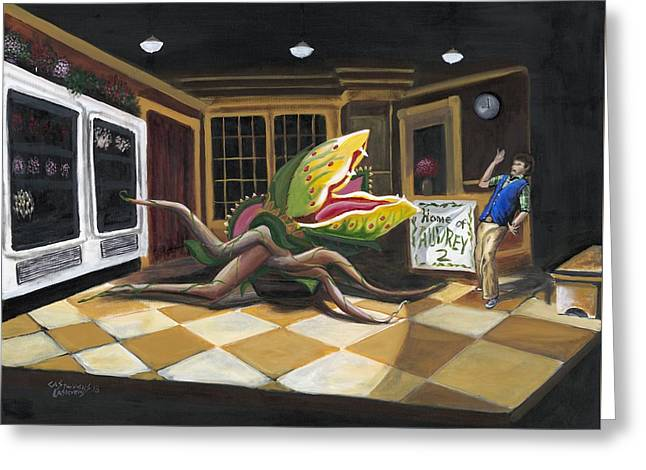 Little Shop Of Horrors Greeting Card