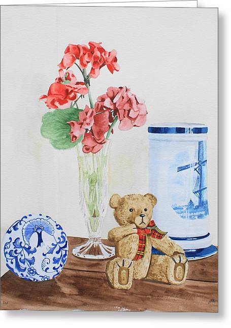 Little Ted Greeting Card
