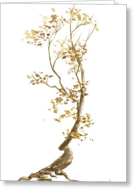 Little Tree 57 Greeting Card by Sean Seal
