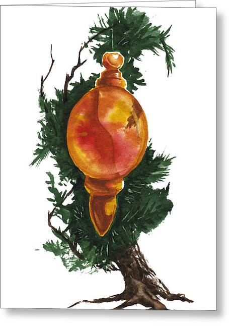Little Tree 99 Greeting Card by Sean Seal